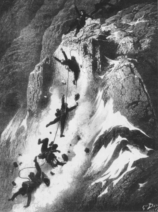 Zermatt Matterhorn_disaster_Dore