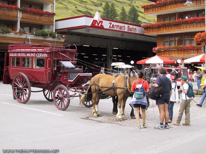 Zermatt station
