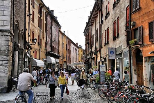 Ferrara Italy street view