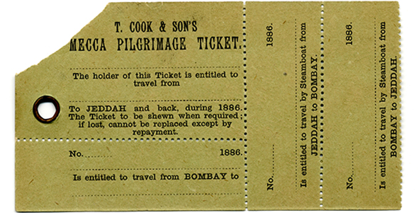 Mecca Hajj ticket